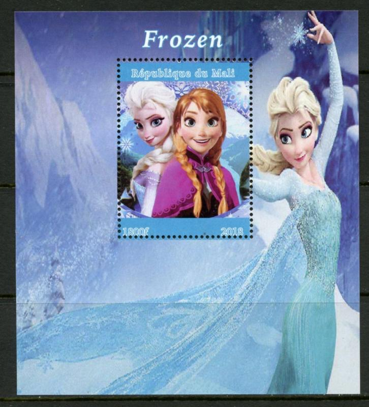 MALI 2018  FROZEN  SOUVENIR SHEET MINT NH