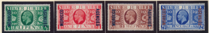Great Britain, Offices In Morocco Stamps Scott #226 To 229, Mint Hinged - Fre...