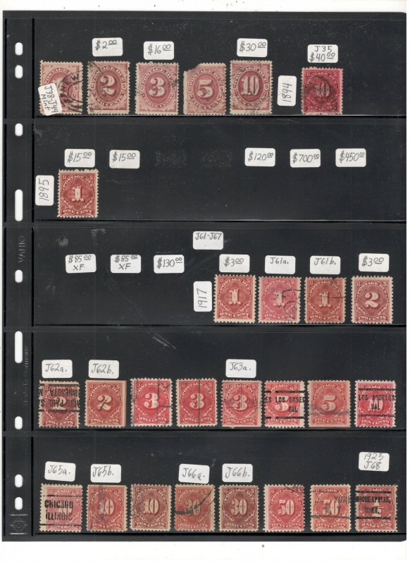 US POSTAE DUC COLLECTION
