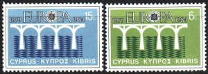 Faroe Islands. 1984. 97-98. Mail, 25 years of europa-sept. MNH.