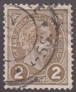 Luxembourg 71 Grand Duke Adolphe 1895