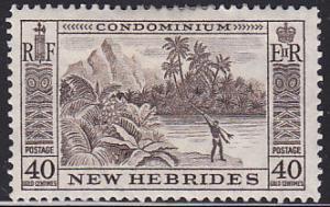 New Hebrides Br 88 Tropical Spear Fisherman 1957