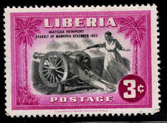 LIBERIA Scott 302 MH* stamp