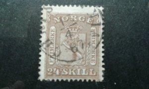 Norway #10 used e203 7524