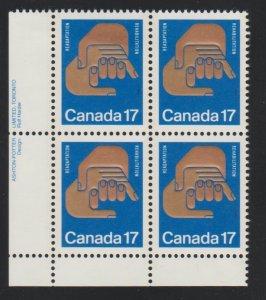 Canada 856 Rehabilitation - MNH - block