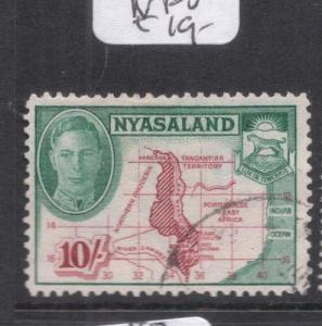 Nyasaland SG 153 VFU (4doh)