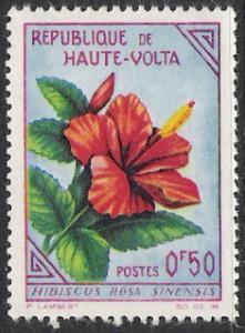 Upper Volta #111 Flowers MNH