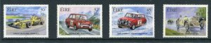 Ireland 2000 Scott 1296-99 1299 2001 Race Cars, NH