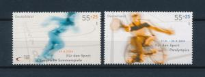 [54812] Germany 2004 Olympic games Athens Athletics Tennis from set MNH