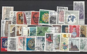 West Berlin 30 different used