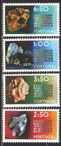 Portugal. 1971. 1139-42. Minerals. MNH.