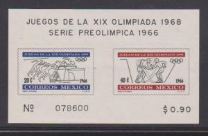 MEXICO STAMPS MINT S/S 975A  LOT#393