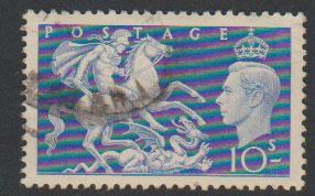 GB George VI  SG 511 used parcel cancel