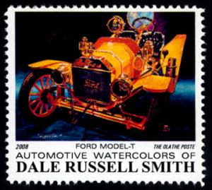 Ford Model T: 100 Anniv. Commemorative  -  Cinderella - MNH
