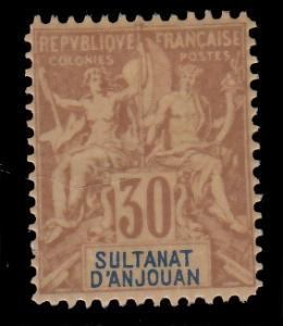 Anjouan 12 MNH