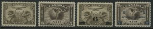 Canada 1928-32 Airmails all unmounted mint NH