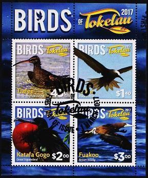 Tokelau. 2017 Miniature Sheet.  Fine Used