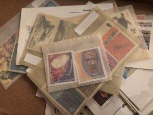 Beautiful International Stamp Lot Full of Very Nice Glass Scenes