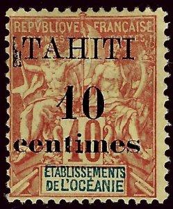 Tahiti SC#31 Mint Fine hr SCV$13.00 .. Fill a Regal Spot!