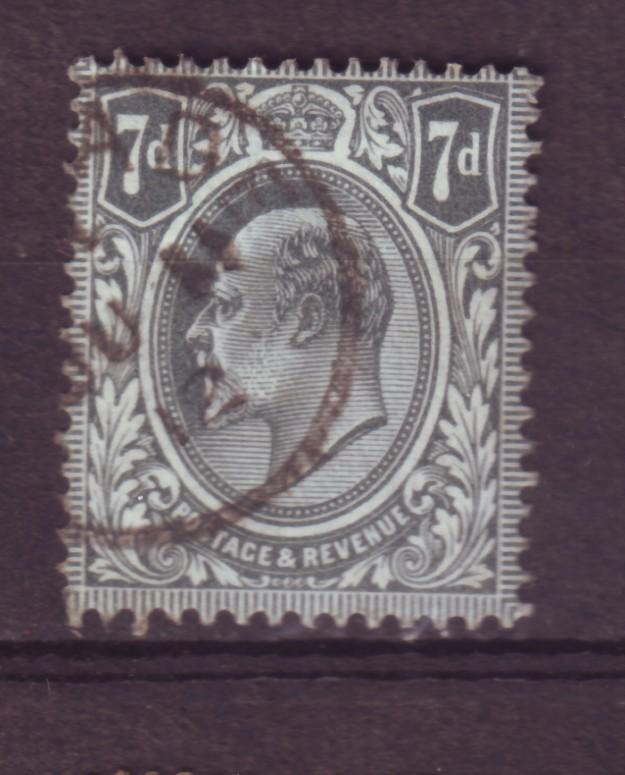 J13812 JLstamps 1909-10 great britain used #145 KEVII