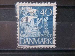 DENMARK, 1940, used 40o, Scott 238J