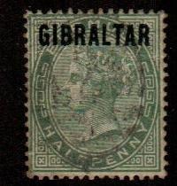 Gibraltar #1  Used  Scott $13.00