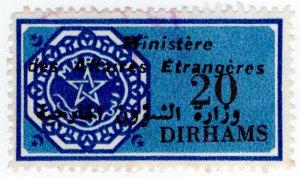 (I.B) Morocco Revenue : Consular Fees 20D