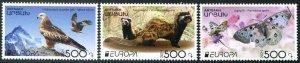 2021 Karabakh Wildlife Europa (3) (Scott NA) MNH