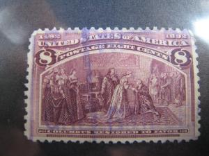 UNITED STATES - SCOTT #236 - Used