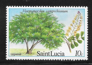 St Lucia Mint Never Hinged [4167]