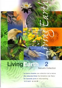 Nature's Collection Living Earth 2 Stamps Canada, Hong Kong, Ireland, Singapore