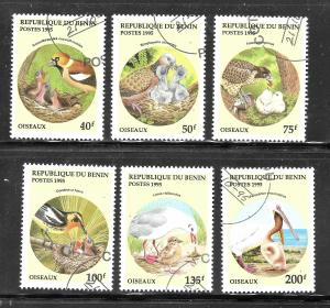 Benin 1995 SC# 780-785