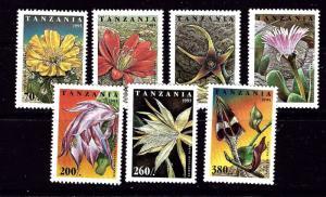 Tanzania 1388-94 MNH 1995 Cactus Flowers
