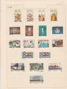 south african 1985-6 stamps page ref 17903