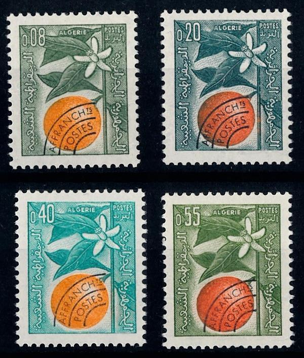 [66547] Algeria 1963 Flora Orange Tree Flower Blossom   MNH