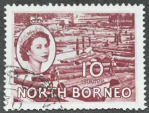 DYNAMITE Stamps: North Borneo Scott #267 - USED