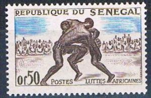 Senegal 202 MNH Wrestlers 1961 (S0783)+