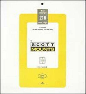 Scott/Prinz Souvenir Sheets & Small Panes Stamp Mount Size: 183x216 #1040 Clear