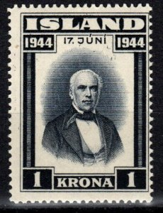 Iceland  #243  F-VF Unused   (V5243)