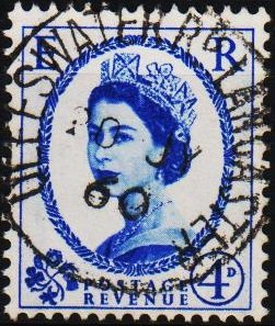 Great Britain. 1958  4d(Graphite) S.G.593 Fine Used