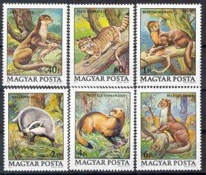 1979 Hungary 3384-3389 Fauna 5,00 €