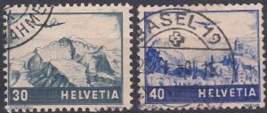 Switzerland C43-C44 used (1948)