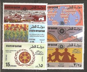 Qatar SC 390-5 MNH
