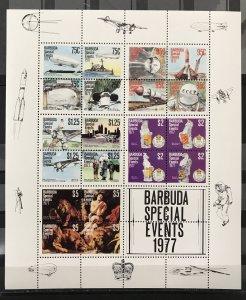 Barbuda 1977 #322a S/S, MNH, CV $11.00