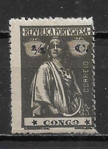 Portuguese Congo 99 1/4c Ceres single MH
