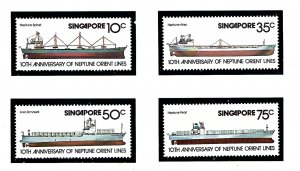 Singapore 308-11 MNH 1978 Ships