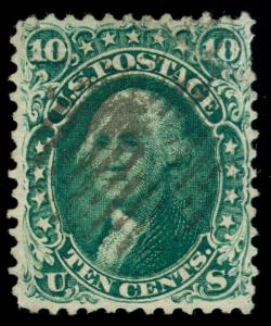 MOMEN: US STAMPS #62B USED