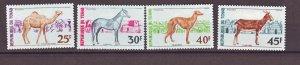 J22375 Jlstamps 1972 chad set mlh #271-4 animals
