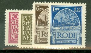 M: Italy Rhodes 15-23 mint CV $458.50; scan shows only a few