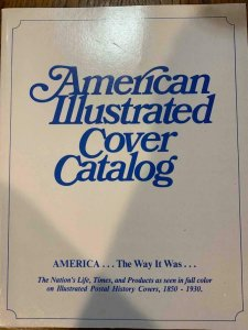 American Illustrated Cover Catalog by Biddle 1981, Stamp Philately Book